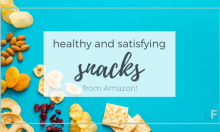Healthy and Satisfying Snacks from Amazon